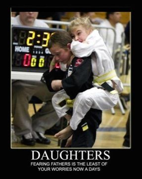 jiu jitsu daughters fearing their fathers is the least of your problems - Jiu Jitsu Berlare - Zele - Dendermonde - Overmere: Judo, Karate én Aikido in één vechtsport en zelfverdedigings sport.   Martial arts - zelfverdediging - vechtsport - self-defense - - BJJ  http://www.jiujitsu-berlare.be  - - - http://www.jiujitsu-berlare.be/jiujitsu-berlare.be/programma.html - - http://www.jiujitsu-berlare.be/jiujitsu-berlare.be/films.html