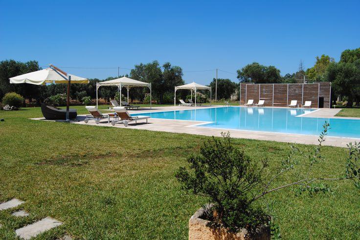 Piscina - Swimming Pool  http://masseriacordadilana.it/  #masseriacordadilana #divertimento #relax #travel  #piscina #vacanze #holidays #salento #swimmingpool #familyhotel #family  ©Lucilla Cuman Photography