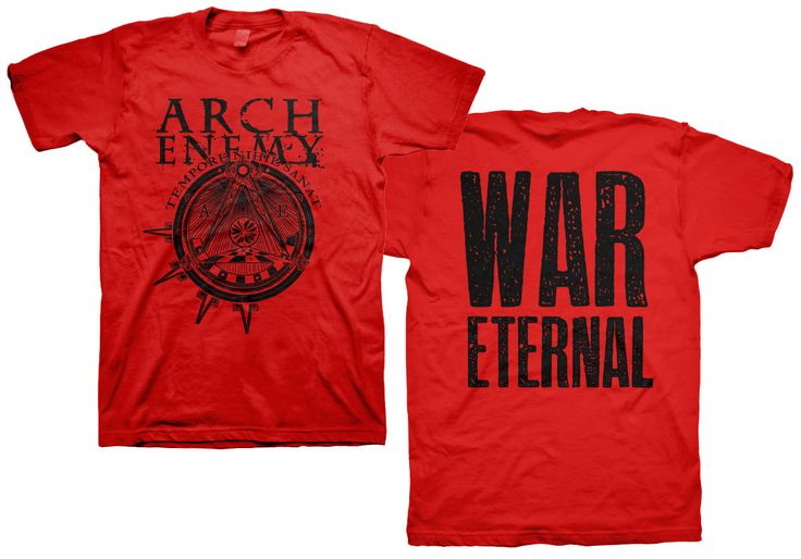 Arch Enemy War Eternal Symbol Red T-Shirt for $19.95  http://www.jsrdirect.com/merch/arch-enemy/arch-enemy-war-eternal-red-tshirt  #archenemy #wareternal #metal #metaltees #metaltshirts #tshirts #bandtees