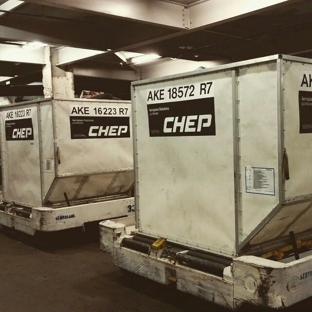 Chep baggage containers for Air Transat @acstyles14