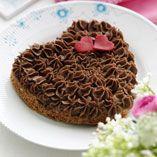 Valentintårta med choklad - Recept http://www.dansukker.se/se/recept/valentintaarta-med-choklad.aspx mmm...choklad, kärlek! #valentines #chocolate #love