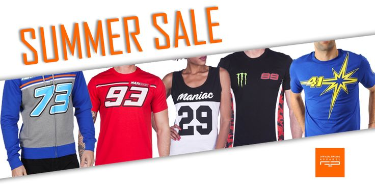 MotoGP Summer Sale - Official Merchandise #MarcMarquez #JorgeLorenzo #AndreaDovizioso #AndreaIannone #AleixEspargaro #AlexMarquez #CaseyStoner #MarcoSimoncelli #NickyHayden
