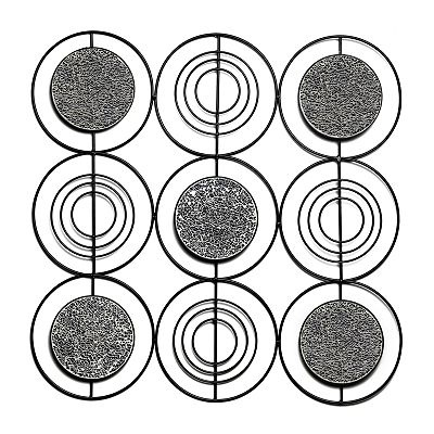 Metal Circle Wall Decor 110 best wall decor images on pinterest | wall decor, metal walls