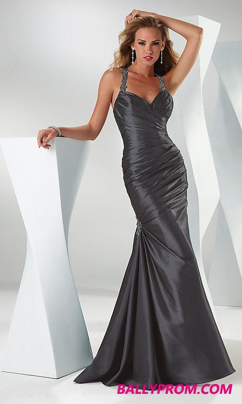 Astra Formal Flirt 1510 | Size 10 Charcoal