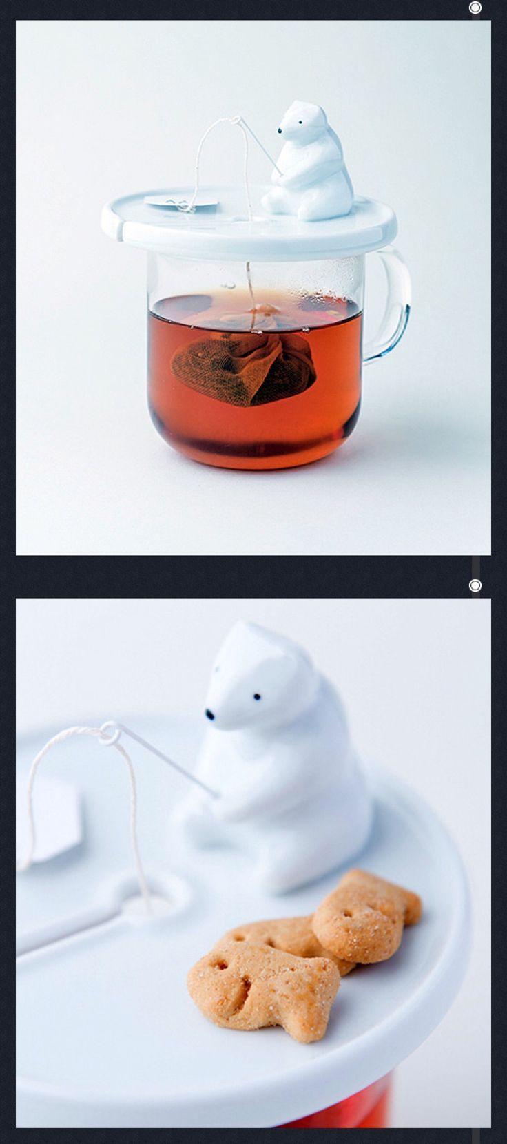 Polar Bear Tea Bag holder