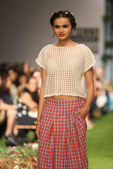 Pero by Aneeth Arora WLIFW S/S 15 (gingham)