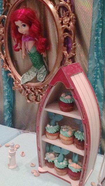 The Little Mermaid Birthday Party Ideas | Photo 47 of 65 | Catch My Party