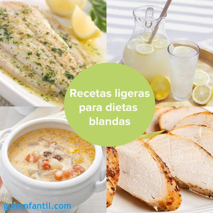 Aqu tienes una selecci n de recetas muy ligeras para ni os y embarazadas con problemas de - Alimentos de una dieta blanda ...