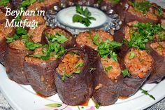 KURU PATLICAN DOLMASI - Beyhan'ın Mutfağı