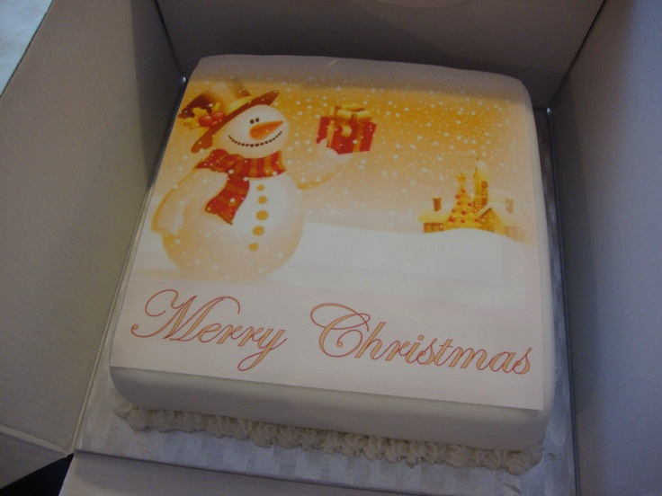 Another Christmas cake