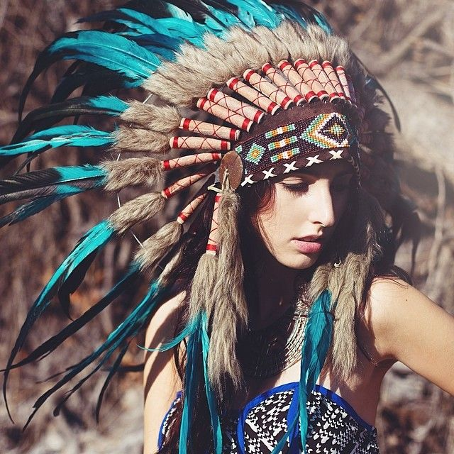 Novum Crafts Indian Headdress - Festy Dress