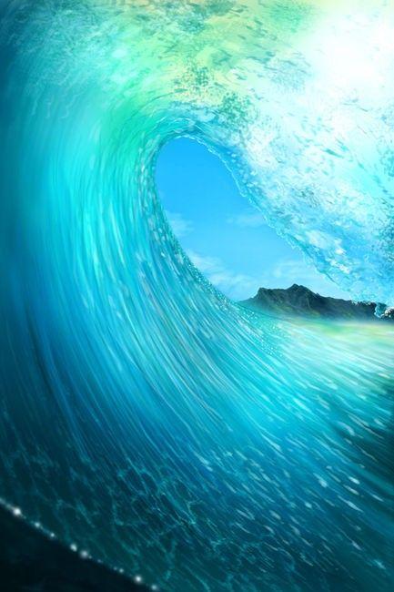 El mar!