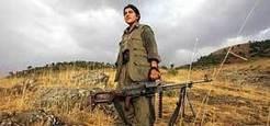Les amazones du PKK, porte-drapeau de l'émancipation des femmes kurdes ?   Photo AFP