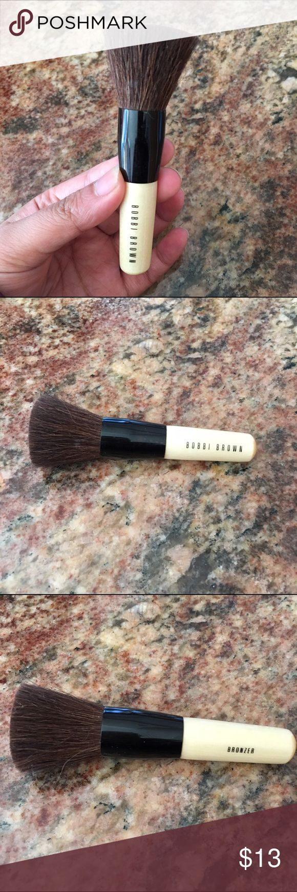Bobbi Brown mini bronzer brush Barely used, works great with the bronzer I have listed. No trades, reasonable offers only Bobbi Brown Makeup Brushes & Tools