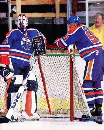 Grant Fuhr & Wayne Gretzky