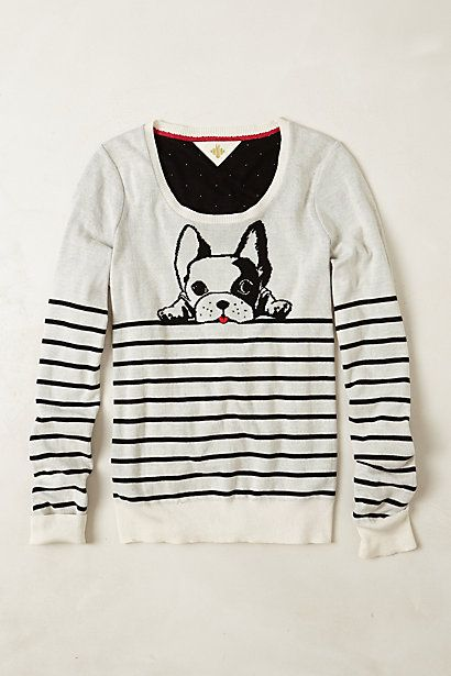 top dog pullover / anthropologie... too cute!