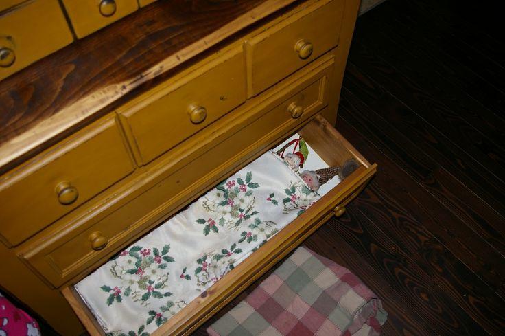 lutins tiroir à nappes