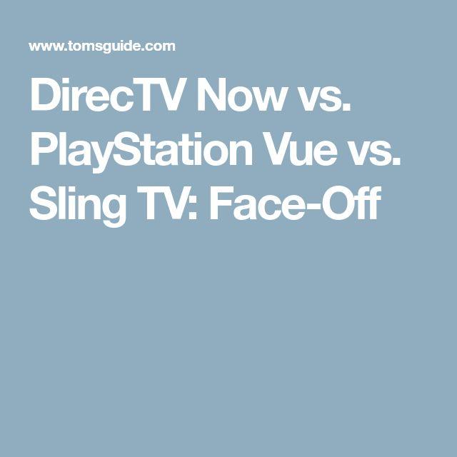 DirecTV Now vs. PlayStation Vue vs. Sling TV: Face-Off