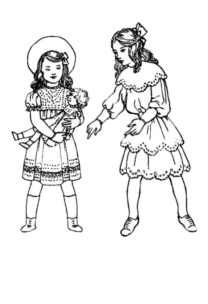 1920s coloring pages for kids | 26 best Early 1900 images on Pinterest | Little girl ...