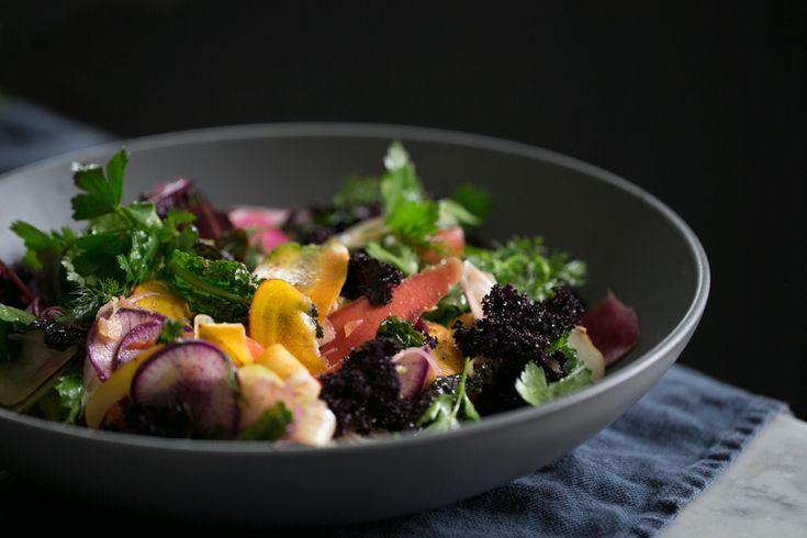 Alison Roman's Shaved Root Vegetable and Preserved Lemon Salad  | SALAD for President
