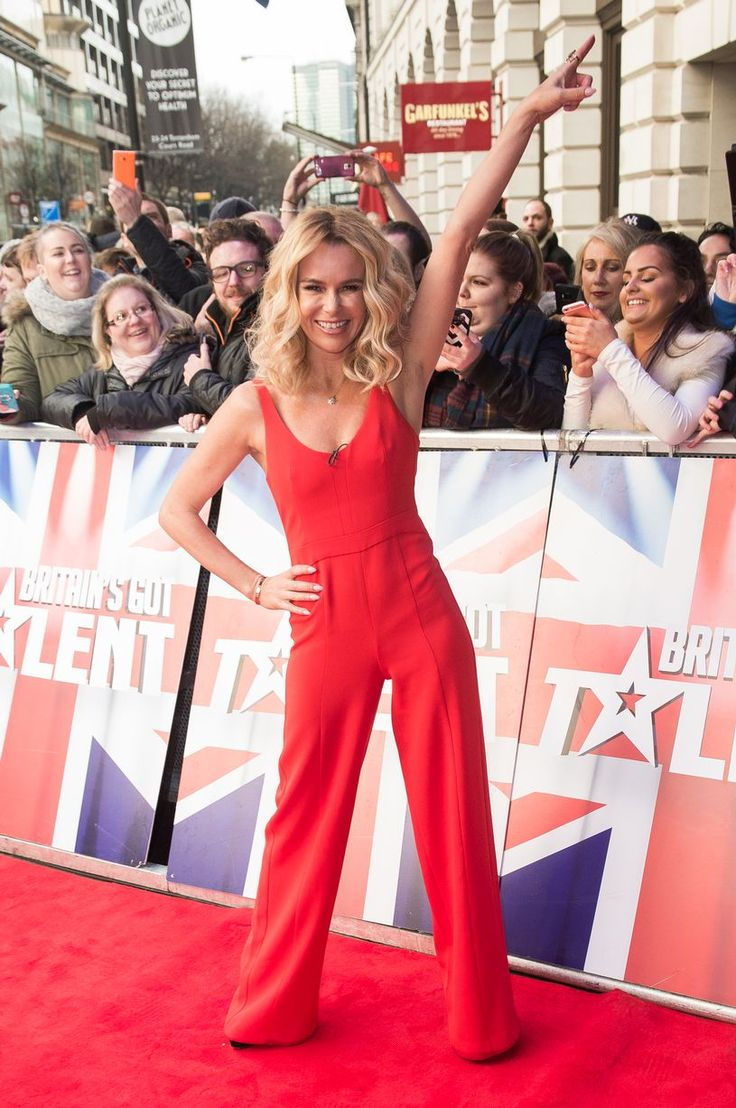 Amanda Holden does a John Travolta as she arrives for the Britain's Got Talent auditions - Daily Record
