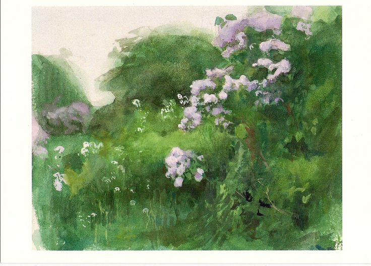 https://flic.kr/p/x4LFpB | FOR TRADE Järnefelt, Eero - Lilac bush