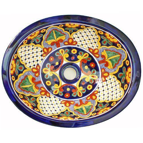 Традиционный мексиканский Sink- Cuarteles - мексиканские плитки Designs