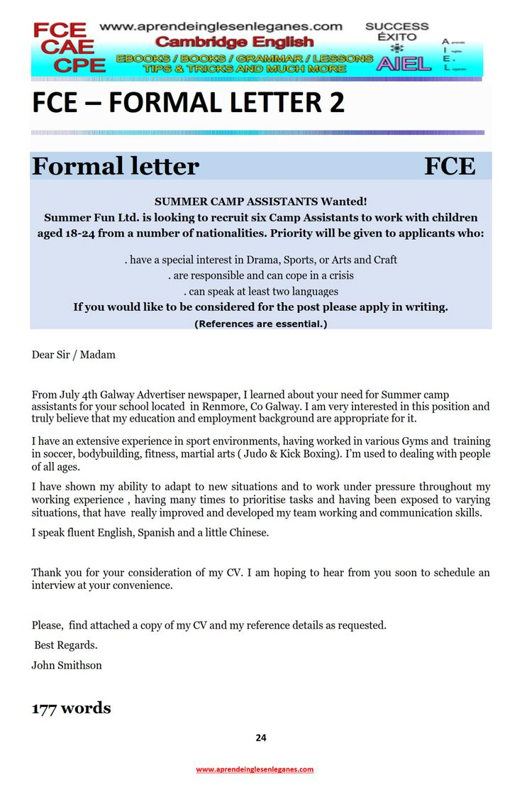 english essays informal letter The informal essay is written  of the essay form and because it explores the kind of problem you will come up against as you try to punctuate your essays.