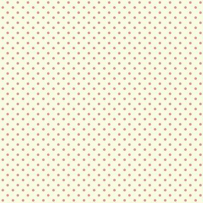 Free digital polka dot scrapbooking and fun paper: vanilla and strawberry red