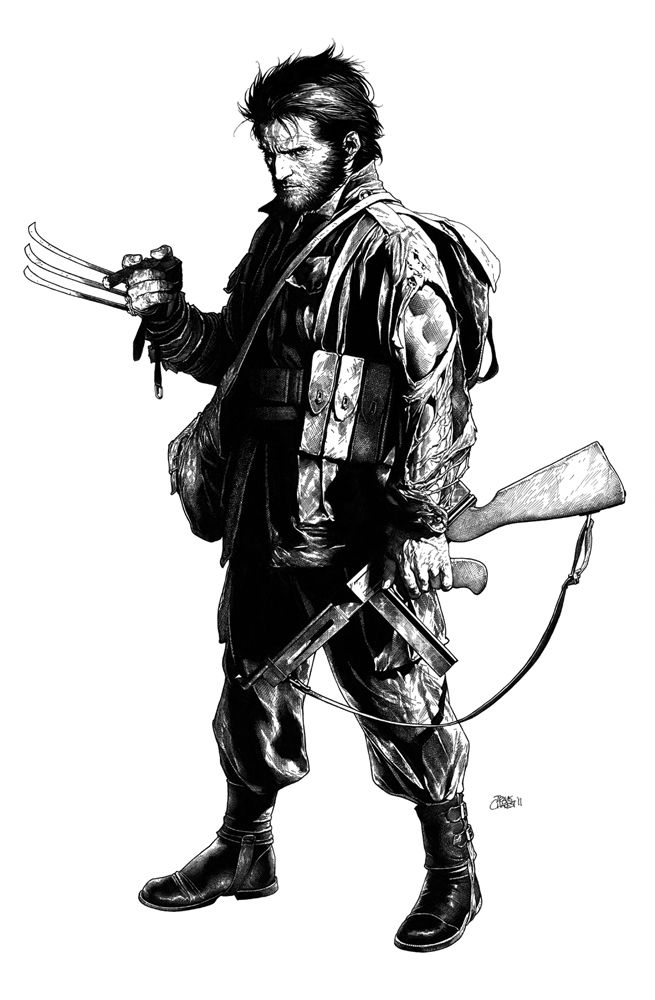 Travis Charest, one of the greatest living artists/illustrators and probably my biggest influence artistically.
