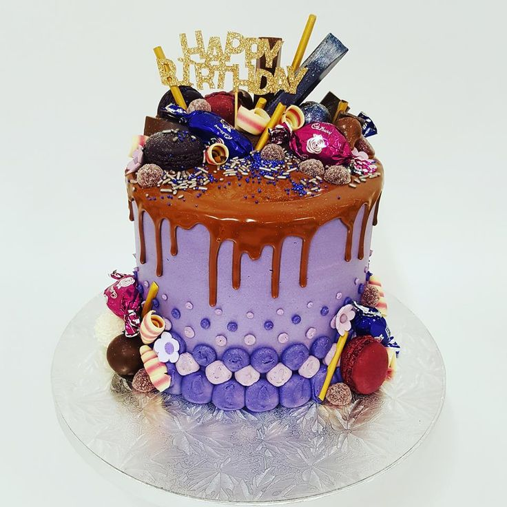 Purple Overload with Various Toppings