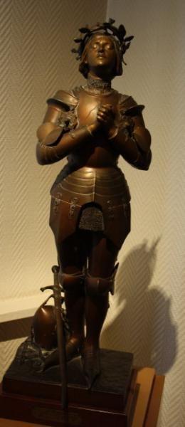 Jeanne d'Arc de Mercié A. – Musée – Vaucouleurs