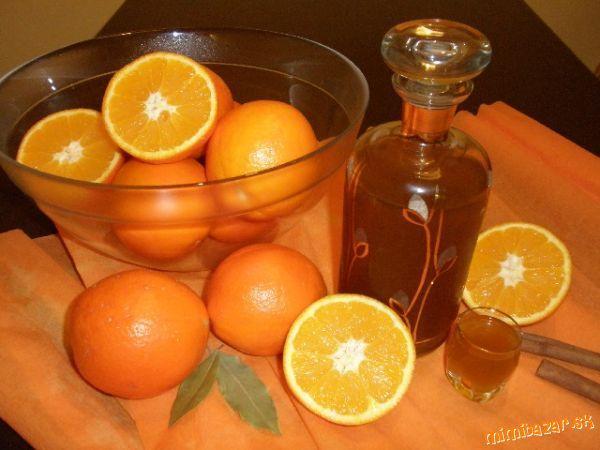 Domáci pomarančový likér
