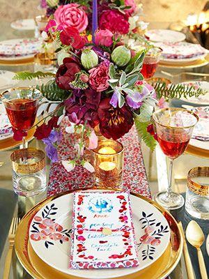 Wiltshire print tableware - Flowers of Liberty