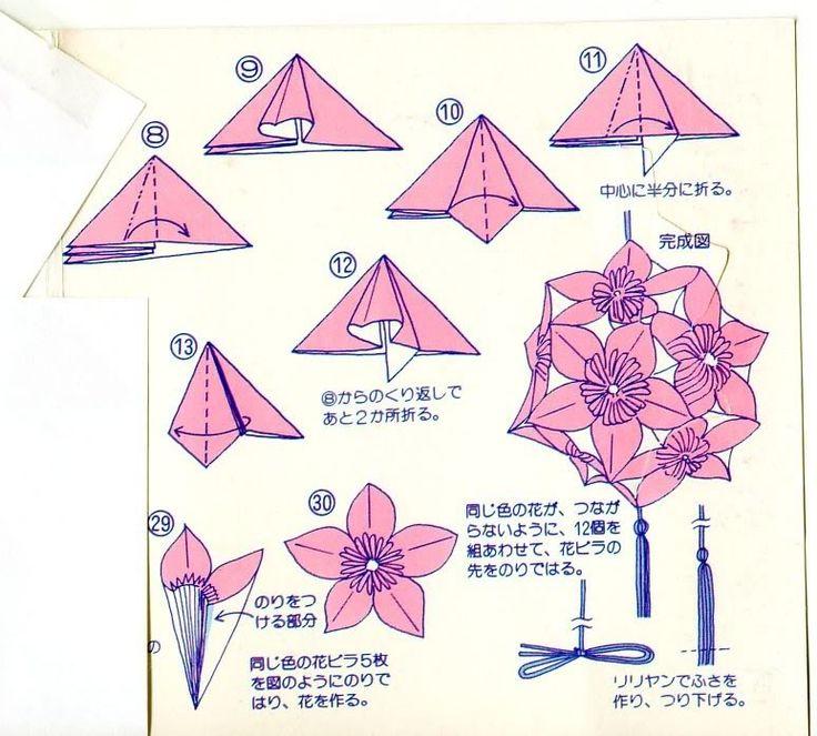 17 best images about kusudama on pinterest flower ball