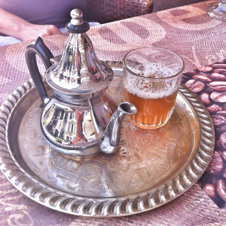 Mint tea-Tanger-Maroc By Flora Carreno