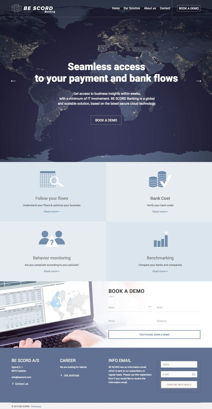 BE SCORD Banking (More web design inspiration at topdesigninspiration.com) #design #web #webdesign #sitedesign #responsive #ux #ui