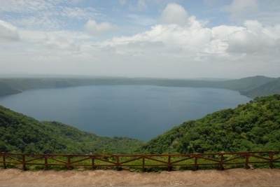 Laguna de #Masaya para hacer #turismo de aventura nicaragua