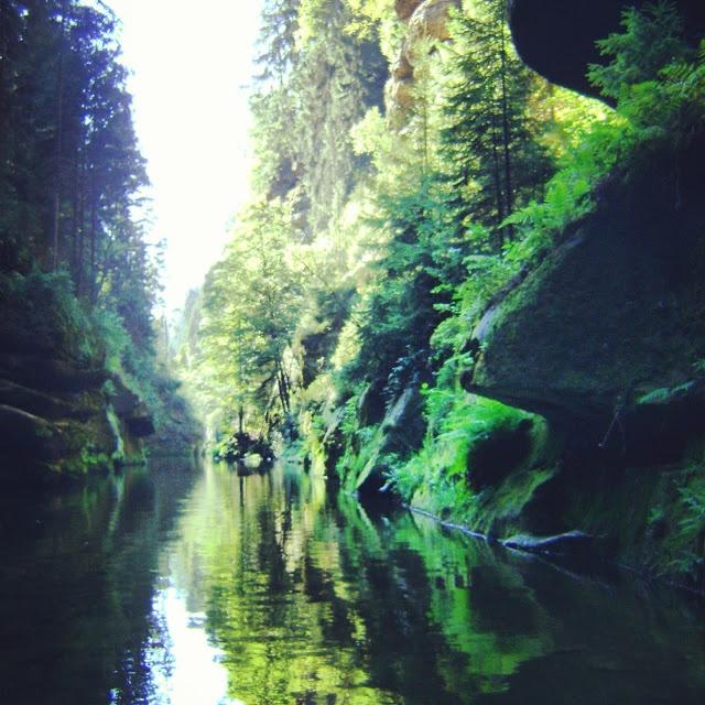 Edmundsklamm im Nationalpark Böhmische Schweiz