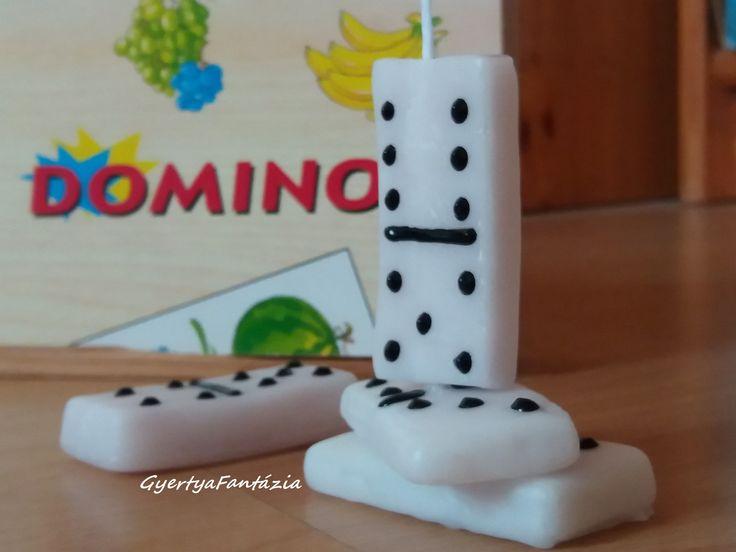 Dominó gyertya Domino candle