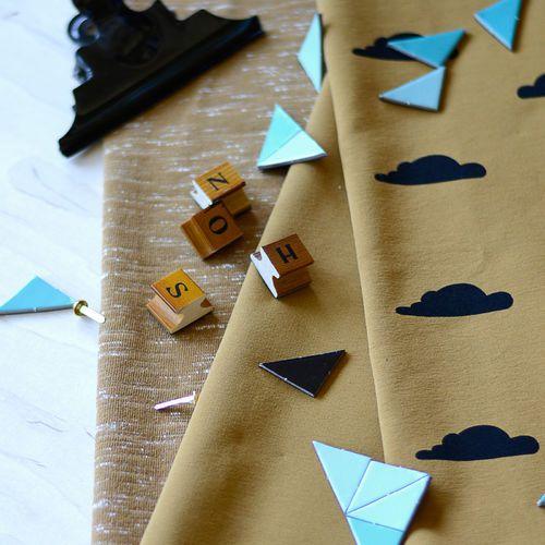 Stretch College,  Nutmeg   NOSH Autumn & Winter 2016 Fabric Collection is now available at en.nosh.fi   NOSH syksyn 2016 uutuuskankaat saatavilla verkosta nosh.fi