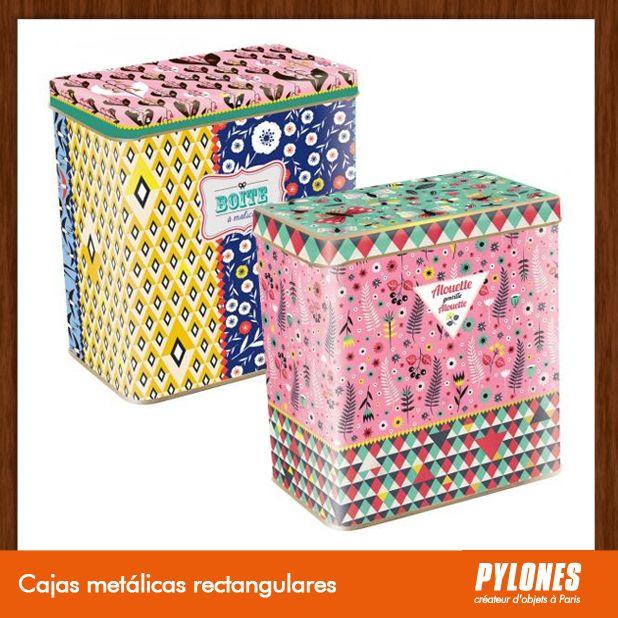 Cajas metálicas rectangulares @pylonesco Pylones Colombia #navidad #regalos #pylones #novedades #new #gifts #christmas — en Colombia.