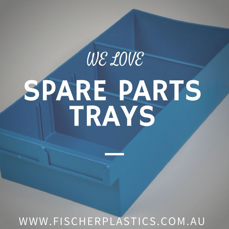 Our Spare Parts Trays are a versatile storage solution and we are currently obsessed with them!