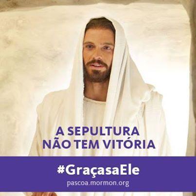 """""""Ele não está aqui, porque já ressuscitou."""" Mateus 28:6 #GracasaEle #SUDportugues"""