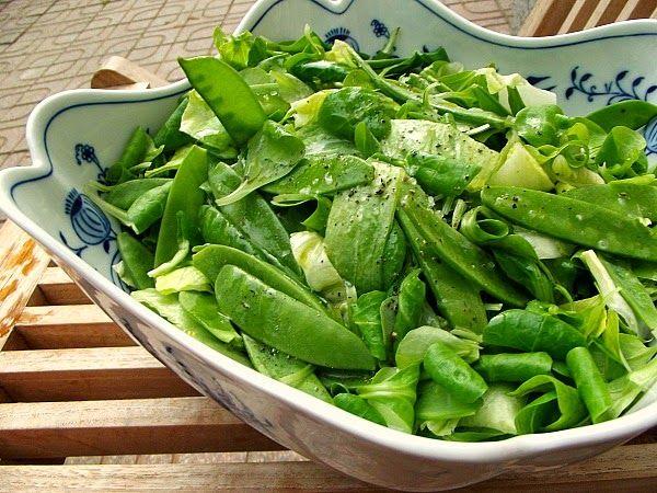 Kuchařský zápisník bez cenzury: S bohyní v kuchyni: Pořádně řízný salát s wasabi