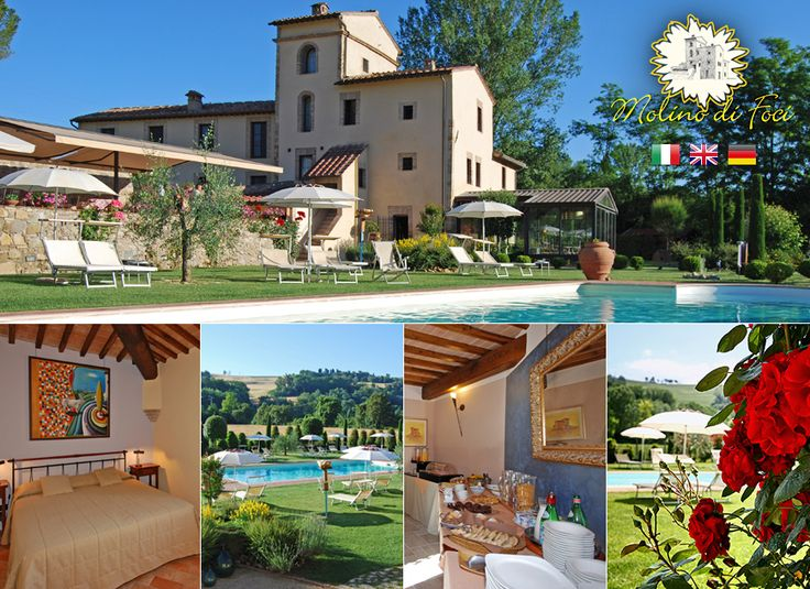 Top rated agriturismo near S.Gimignano: MOLINO DI FOCI