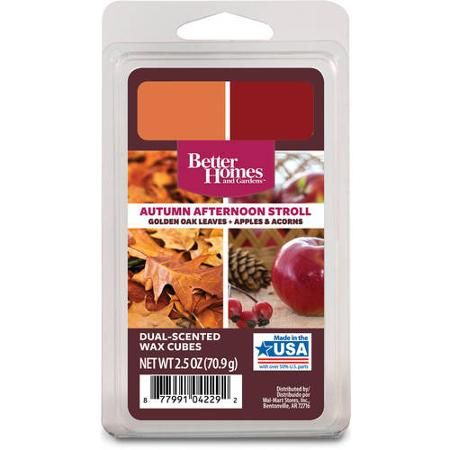 excellent better homes and gardens scented wax cubes. Better Homes  Gardens Duo Scented Wax Cubes Autumn Afternoon Stroll 183 best Walmart Melts images