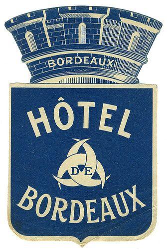 Bleu.. de Bordeaux. France