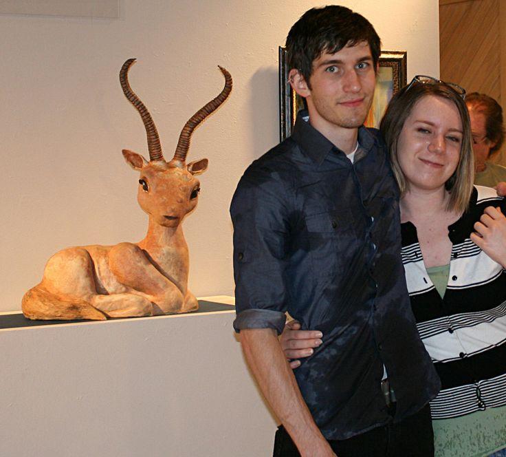 Mendocino College Student Art Show - Entrance