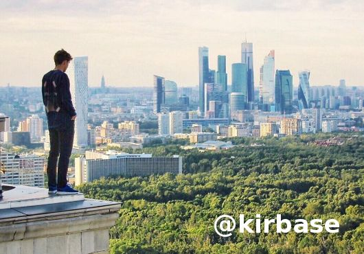 Extreme Photography - Skywalking  Searching for adventures into the city, young adventures Russians came up with Skywalking. Extreme Photography – Skywalking is the new trending thing into Russians youth.